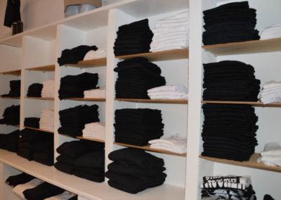 BOGG Design Laden von innen - bedruckte T-Shirts