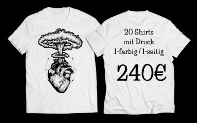 20 Shirts ein Preis